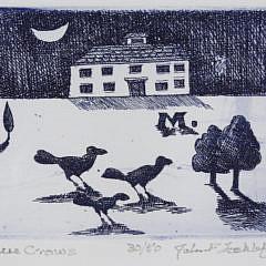 "John Lochtefeld Limited Edition Print ""Three Crows"""