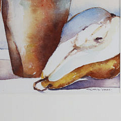 """Katie Trinkle-Legge Watercolor on Paper """"Pears"""""""
