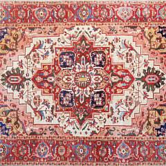 13-4859 Vintage Heriz Carpet A
