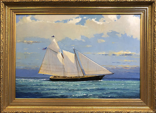 134-3520 William Lowe Oil Schooner America A IMG_7129