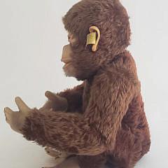 """Vintage Steiff, """"Jocko"""", Monkey Stuffed Animal Germany"""