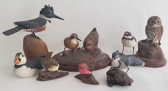 140-4962 Pete Micciche Bird Decoys A