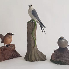142-4962Richard Schepis Bird Decoys A