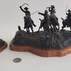 19-4957 Western Bronze Sculptures A