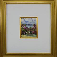 """Deborah Controne Oil on Canvas """"Nantucket Roses"""""""