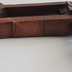 19th Century Wooden Ship's Hand-Crank Alarm
