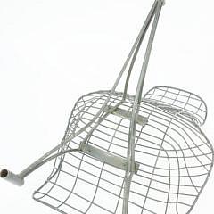 Pair of Vladimir Kagan Metal Garden Recliner Lounge Chairs, circa 1950-1959