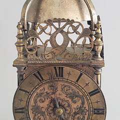 18th Century French Engraved Mantel Clock