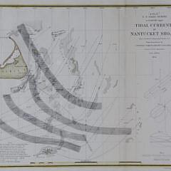 Tidal Currents of Nantucket Shoals, 1854