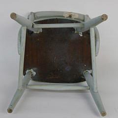 Gerry Scheide Decorated Nantucket Child's Chair