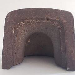 "Antique Cast Iron Old Salt, ""Captain Erie"", Doorstop Statue"