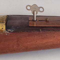 "Antique Mengel Playthings Wind Toy Wooden Boat Model, ""Miss America"""