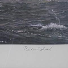 "Richard Loud Limited Edition Offset Lithograph ""Summer Regatta off Marblehead"""