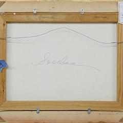 "Debbie Sosbee Oil on Canvas ""Surfside Morning"""