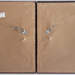 Pair of Contemporary Diminutive Oil on Board Portraits of Clipper Ships