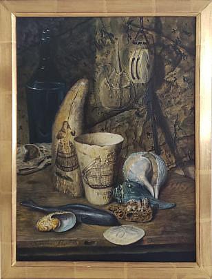 81-4962 Christopher Robbins Nautical Painitng A