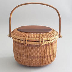 Terry Sylvia Nantucket Oval Friendship Basket