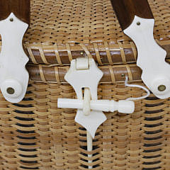 Nantucket Style Double Swing Handle Friendship Basket