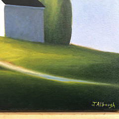 """Joan Albaugh Oil on Canvas """"A Path to Summer"""""""