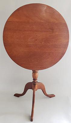 42-2674 Antique Tilt Top Table A