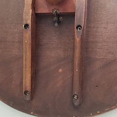 19th Century Cherry Tilt Top Candle Stand