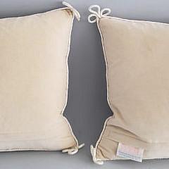Pair of Katha Diddèl Floral Needlepoint Pillows