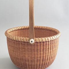 Susan Chase Ottison Nantucket Swing Handle Basket