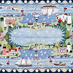 2429-955 Claire Murray Room Size Harbor Rug A