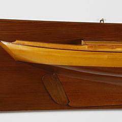 "Fine Vintage Shipbuilder's Half Hull Model of the Maine Coastal Schooner ""Aileen Booth"""
