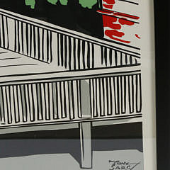 "Tony Sarg Chromolithograph Poster ""Welcome Home"""