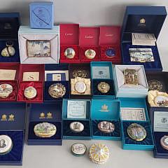 65-4847 Enameled Boxes A