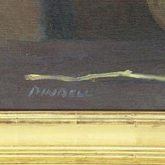 "Pamela Pindell Oil on Canvas ""Old Brass"""