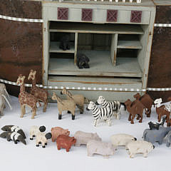 Millwood Toy Co. Handcrafted Noah's Ark