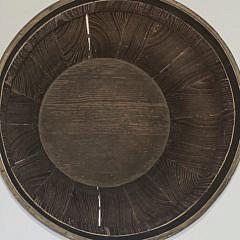 Chinese Elm Brass Bound Barrel, 19th Century