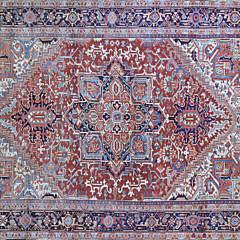 98-4700 Persian Heriz Wool Carpet A 001