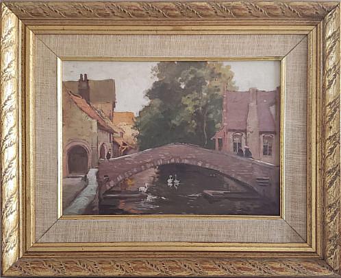 13-4957 Le Pont St. Benoit Painting A