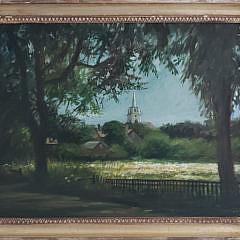 2-4957 Paul Longnecker Nantucket Painting A