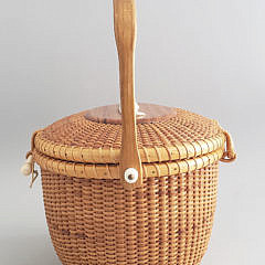 Bill Judy Sayle Oval Nantucket Friendship Basket