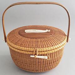 1-4959 Sayle Nantucket Friendship Basket A
