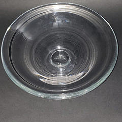 Simon Pearce Clear Crystal Pedestal Compote