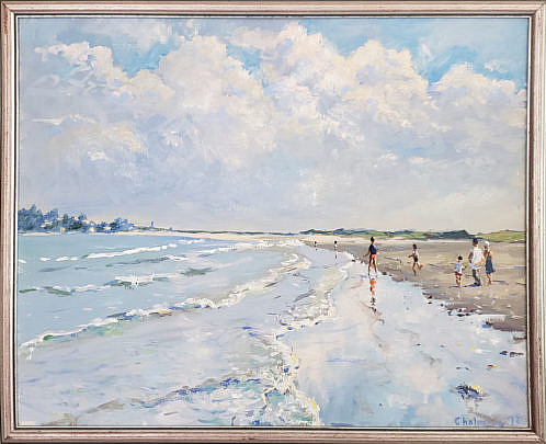 5-4957 Chalmers Beach Painting A