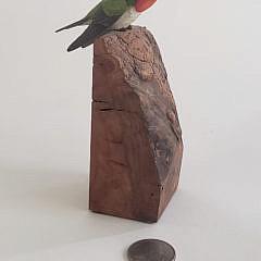 146-4962 Jim Hazeley Humming Bird Decoy A