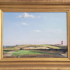 3-4957 MJ Moore Sankaty Oil Painting A