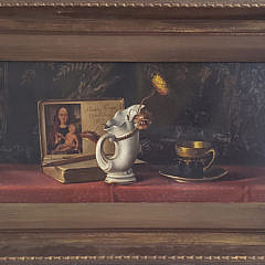 999 Antique Still Life Painting A