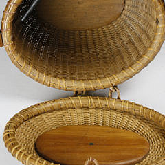 Jose Formoso Reyes Oval Friendship Basket