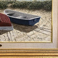 "James Cromartie Acrylic on Board ""Summer Retreat"""