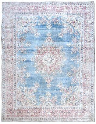 103-4700 Blue Persian Kerman A 001