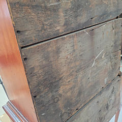 American Country Queen Anne Flat Top Highboy, circa 1770