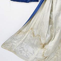 Gold and Silver Embroidered Dragon Kimono Robe, circa 1920s