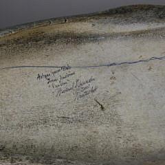 Michael J. Vienneau Scrimshawed Antique Whale Panbone